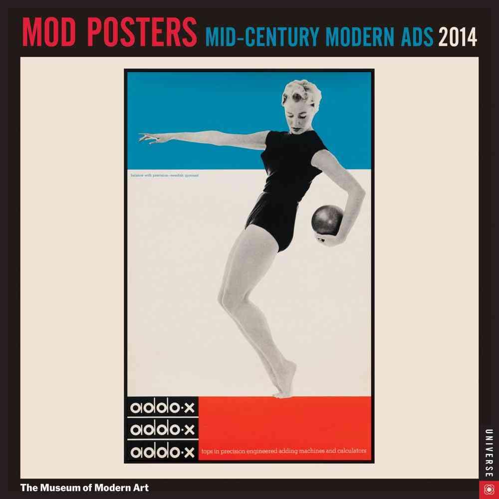 Mod Posters 2014 Calendar: Mid-Century Modern Ads (Calendar)