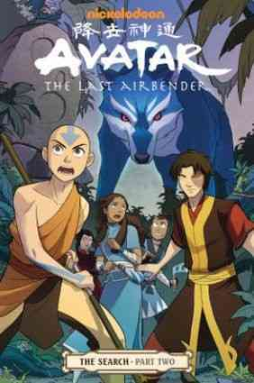 Avatar: The Last Airbender 2: The Search (Paperback)