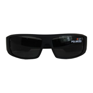Spy Logan Sunglasses  spy optic men s logan matte black polarized sunglasses free