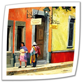 Rick Kersten 'Streets of Mexico' Unwrapped Canvas