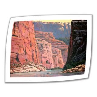 Rick Kersten 'Colorado River Walls' Unwrapped Canvas - Multi