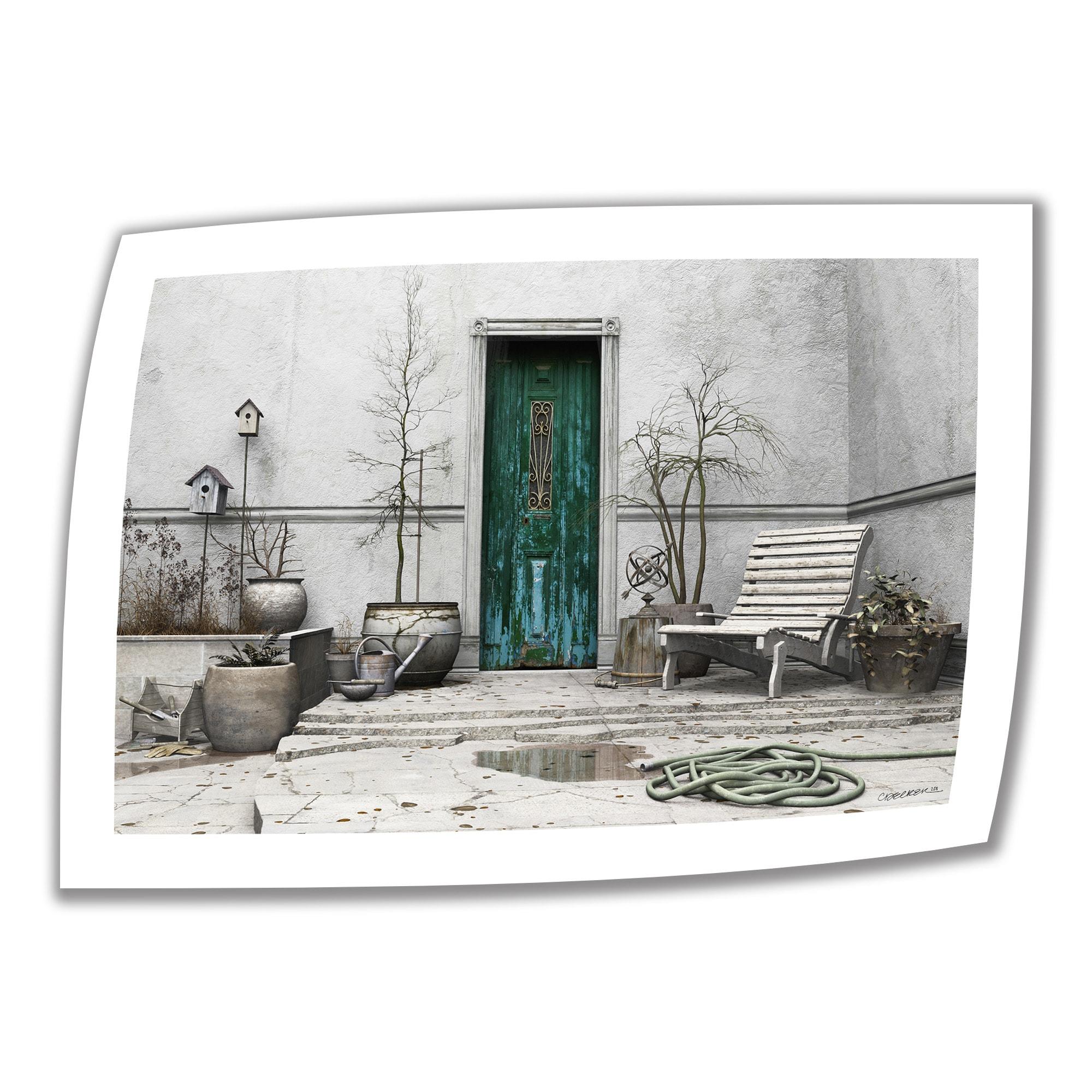 Cynthia Decker \'winter Garden\' Unwrapped Canvas 16x22 Image 12x18 | eBay