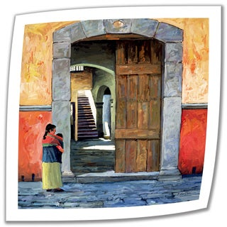 Rick Kersten 'Guanajuato Door' Unwrapped Canvas - Multi