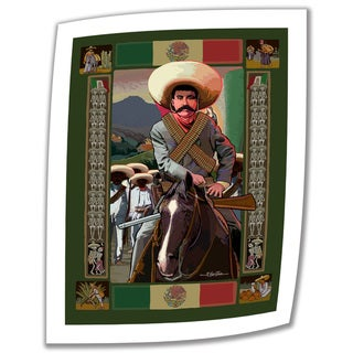 Rick Kersten 'Zapata' Unwrapped Canvas (4 options available)