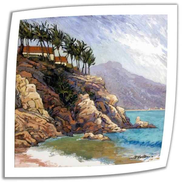 Rick Kersten 'Cabo San Lucas Coast' Unwrapped Canvas
