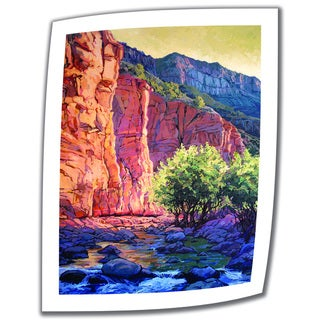 Rick Kersten 'The West Fork' Unwrapped Canvas