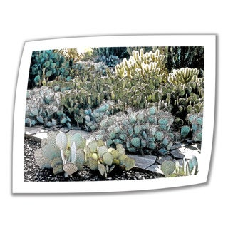 Linda Parker 'Desert Botanical Garden' Unwrapped Canvas - Multi