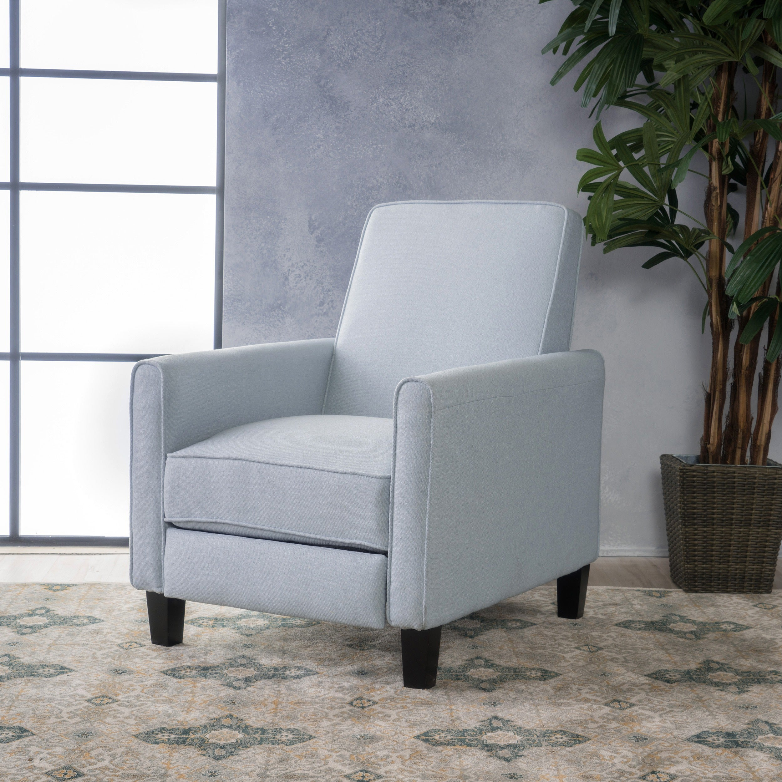 Darvis Fabric Recliner Club Chair by Christopher Knight Home