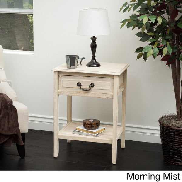 Banks Acacia Wood Accent Table by Christopher Knight Home