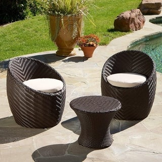La Jolla 3 Piece Chat Set By Christopher Knight Home