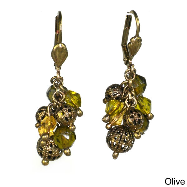 Handmade Sophie Cluster Earrings (India)