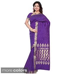 Benares Art Silk Sari/ Saree Fabric (India)
