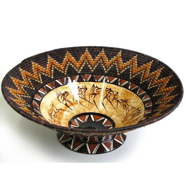 Ceramic Bushman Bowl (Swaziland)