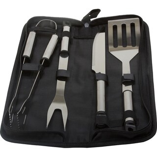 KitchenWorthy 5-piece Stainless Steel BBQ Tool Set (Case of 20)