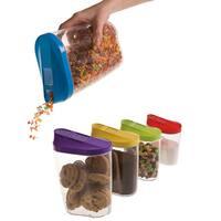 KitchenWorthy 10-piece Storage Container Set