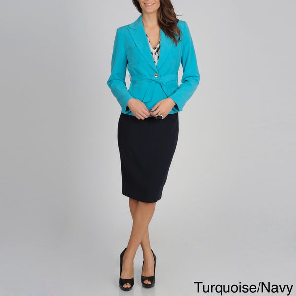 Atelier Women's Four-pocket Skirted Suit