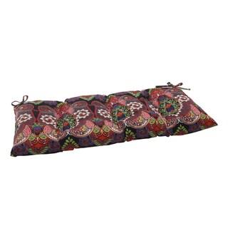 Pillow Perfect Outdoor/ Indoor Marapi Black Swing/ Bench Cushion