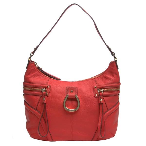 Franco Sarto 'Gatsby' Leather Hobo Bag