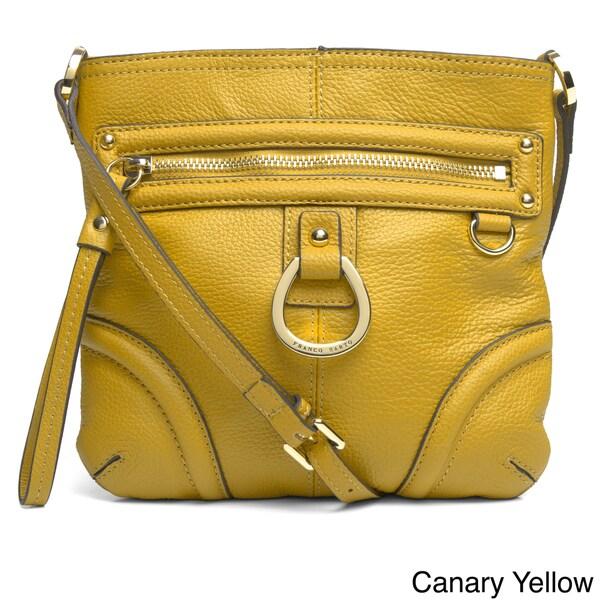Franco Sarto X27 Gatsby Leather Crossbody Bag