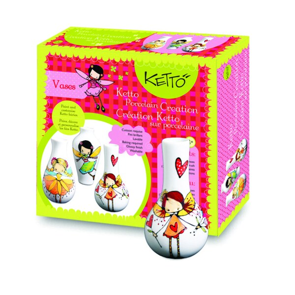 Ketto Fairy Theme Paint It Yourself Vases