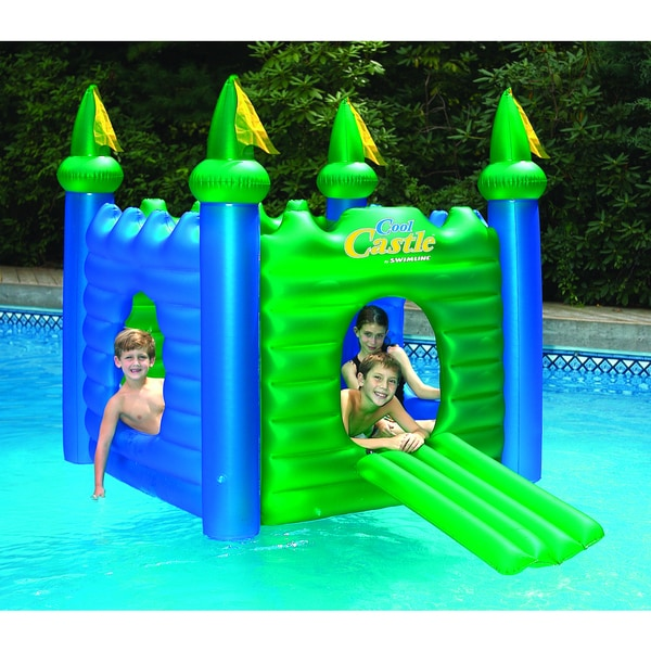 Shop Swimline Cool Castle Inflatable Playhouse And Pool