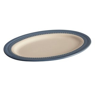 Paula Deen Southern Gathering Blueberry 10-Inch x 14-Inch Oval Platter