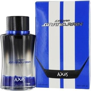 SOS Creations Axis Caviar Grand Prix Blue Men's 3-ounce Eau de Toilette Spray