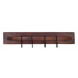 Wine Stave Coat Rack