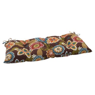 Pillow Perfect Outdoor/ Indoor Annie Brown Swing/ Bench Cushion