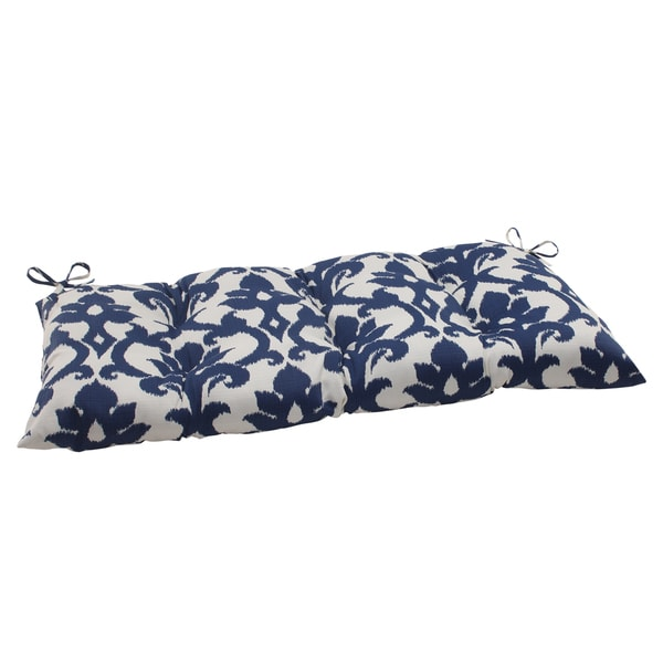 Shop Pillow Perfect Outdoor Indoor Bosco Navy Swing