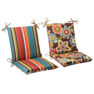 Link to Pillow Perfect Outdoor Annie Reversible Chair Cushion Similar Items in Patio Furniture