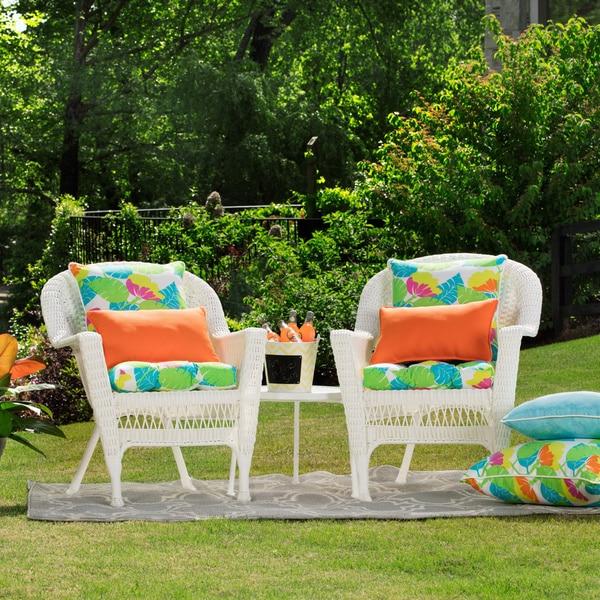 shop pillow perfect orange outdoor throw pillows set of 2 free