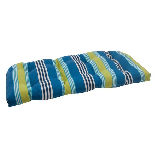 Waverly Sun-n-Shade Oncore Lagoon Wicker Loveseat Cushion