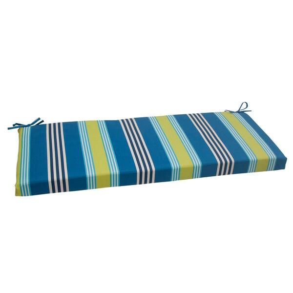 Waverly Sun-n-Shade Oncore Lagoon Bench Cushion