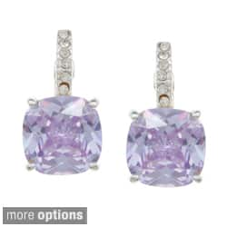City by City City Style Goldtone or Silvertone Champagne or Purple Crystal Earrings|https://ak1.ostkcdn.com/images/products/7820726/City-Style-Goldtone-or-Silvertone-Champagne-or-Purple-Crystal-Earrings-P15211259.jpg?impolicy=medium