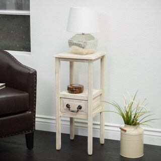 Link to Christopher Knight Home Rivera Acacia Wood Accent Table Similar Items in Bedroom Furniture
