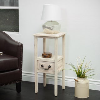 Rivera Acacia Wood Accent Table by Christopher Knight Home