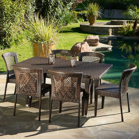Dusk 7-piece Outdoor Dining Set by Christopher Knight Home