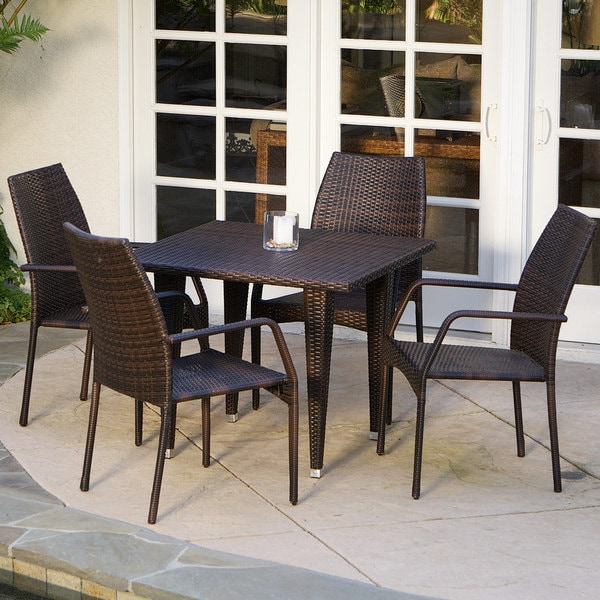 Canoga 5-piece Outdoor Dining Set by Christopher Knight Home
