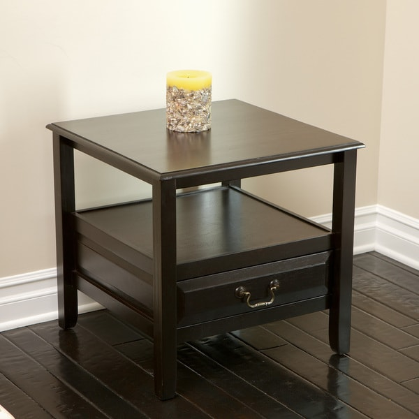 Atlanta Acacia Wood Accent Table by Christopher Knight Home