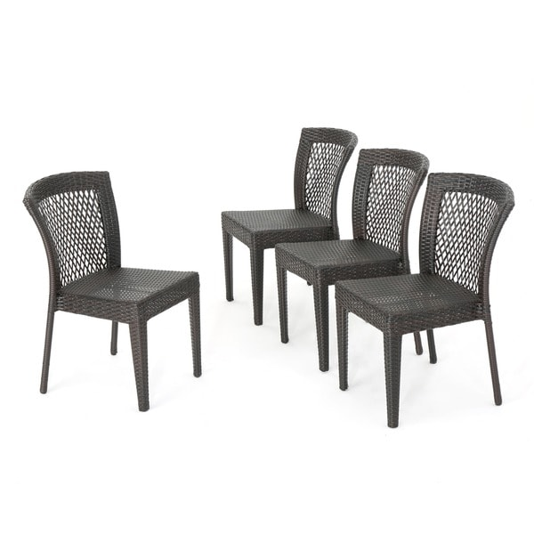 Dusk Outdoor Wicker Chair Set By Christopher Knight Home   Free Shipping  Today   Overstock.com   15211292