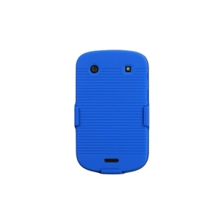 INSTEN Blue Hybrid Holster for Blackberry Bold 9930/ 9900