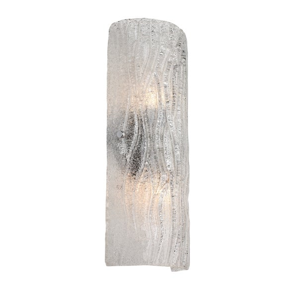 Alternating Current Brilliance 2-light Chrome Wall Sconce