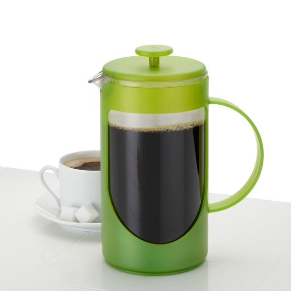 Bonjour Green Unbreakable Ami Matin 3-Cup French Press