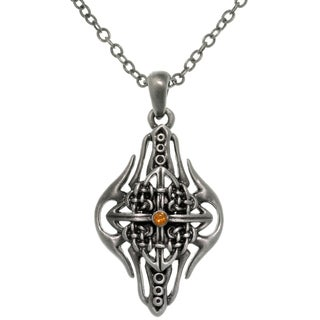 Pewter Alloy Celtic Arrow Shield Necklace