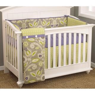 Cotton Tale Periwinkle 4-piece Bedding Set