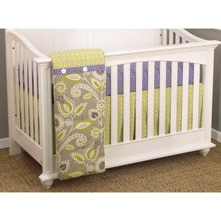 Cotton Tale Periwinkle 3-piece Bedding Set