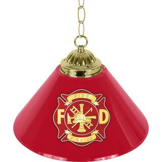 Fire Fighter 14-inch Single Shade Bar Lamp|https://ak1.ostkcdn.com/images/products/7821470/P15211832.jpg?impolicy=medium