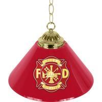 Fire Fighter 14-inch Single Shade Bar Lamp
