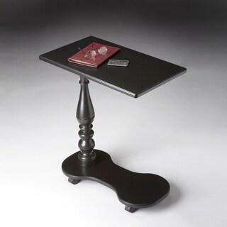 Handmade Black Mobile Tray Table (China)
